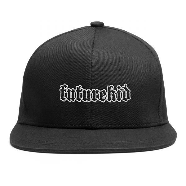 Schwarze Snapback Cap Futurekid