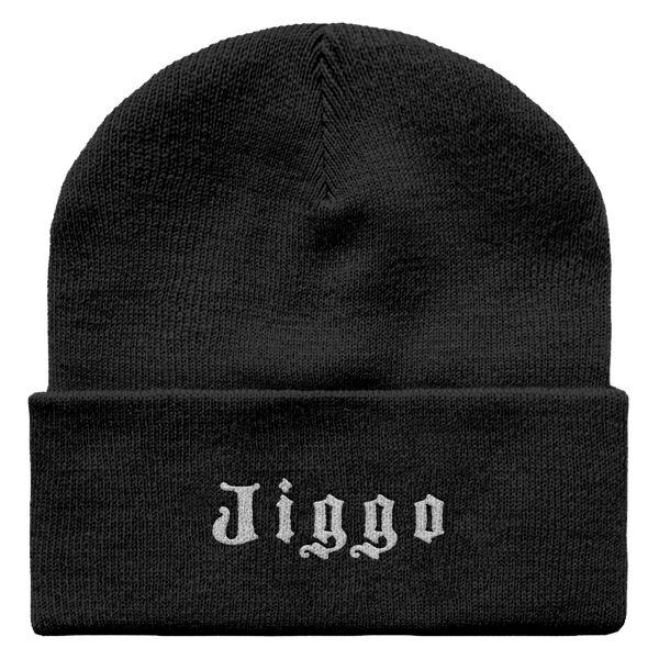 Schwarze Beanie Jiggo