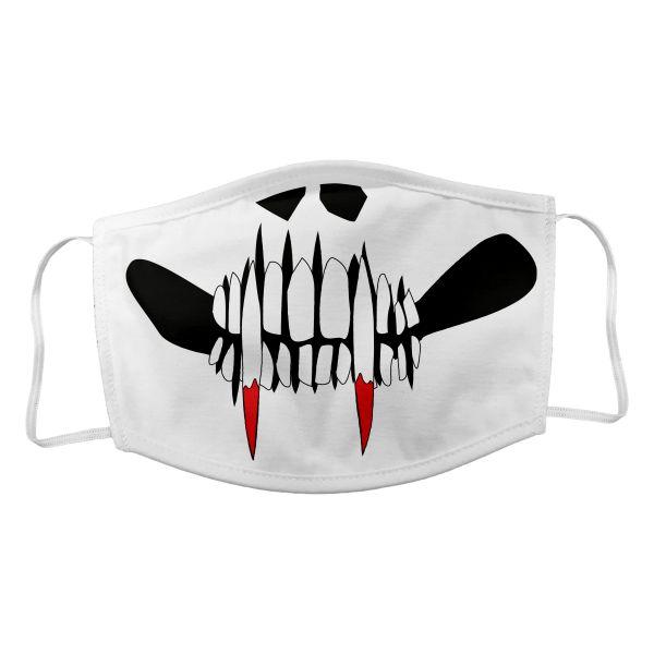 Maske Vampir weiß
