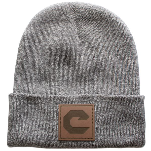 "Old School ""C"" Patch Beanie"