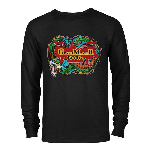 Sweater schwarz Drache