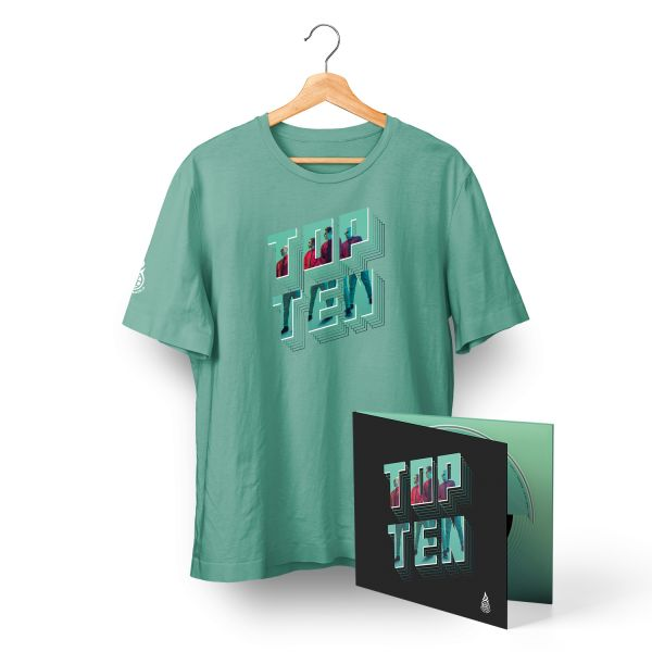 TopTen Digi Pack + T-Shirt mint Bundle