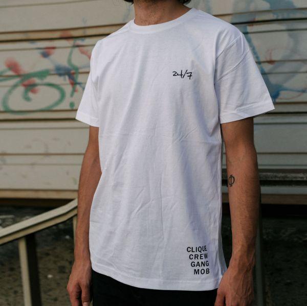 24/7 T-Shirt Weiß