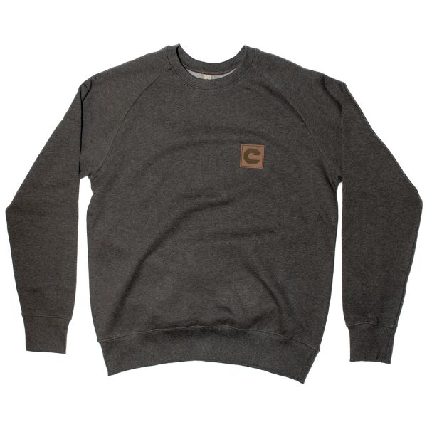 "Old School ""C"" Patch Sweater"