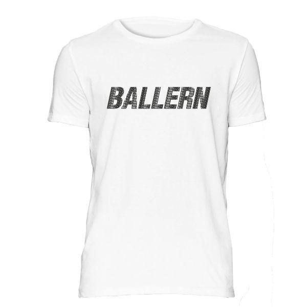 Ballern T-Shirt weiß