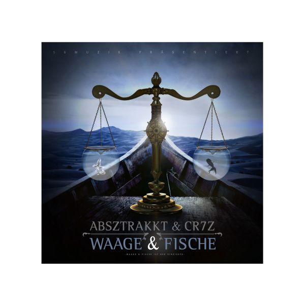 Absztrakkt & Cr7z - Waage & Fische (CD)