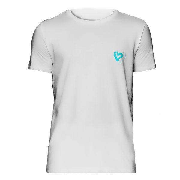 Herz T-Shirt weiß