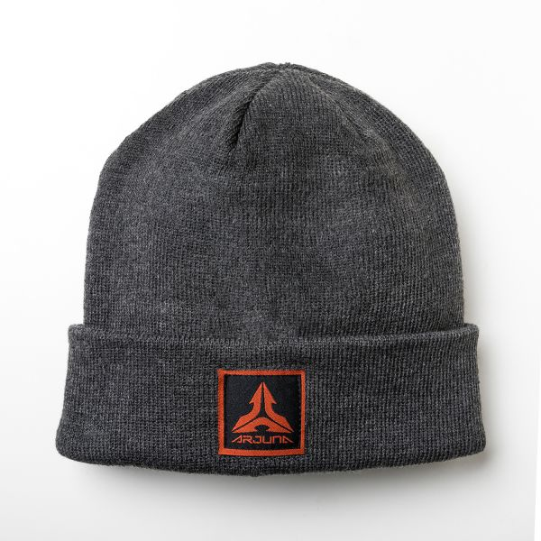 Patch Beanie (Charcoal)