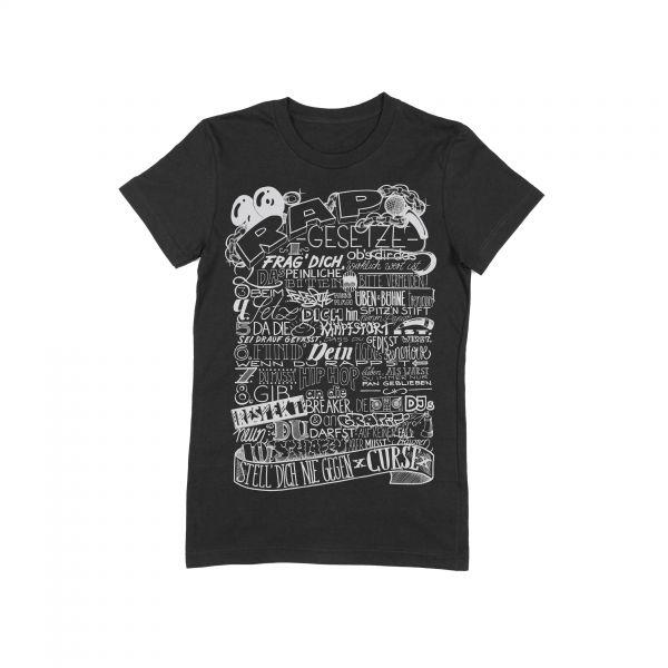 10 Rapgesetze T-Shirt