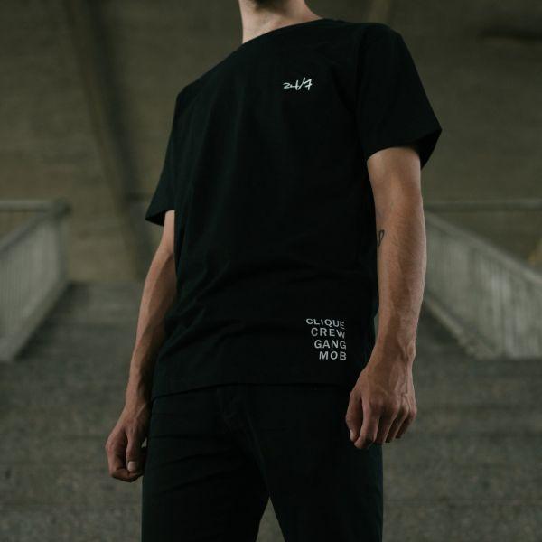 24/7 T-Shirt Schwarz